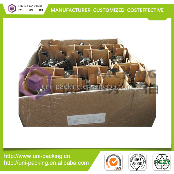 Fashion Package Box Equipment Parts Folded Auto Parts Packing container replace wooden carton