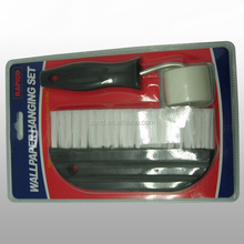 Stainless steel handle wallpaper <strong>brush</strong> with PP wall paper tools
