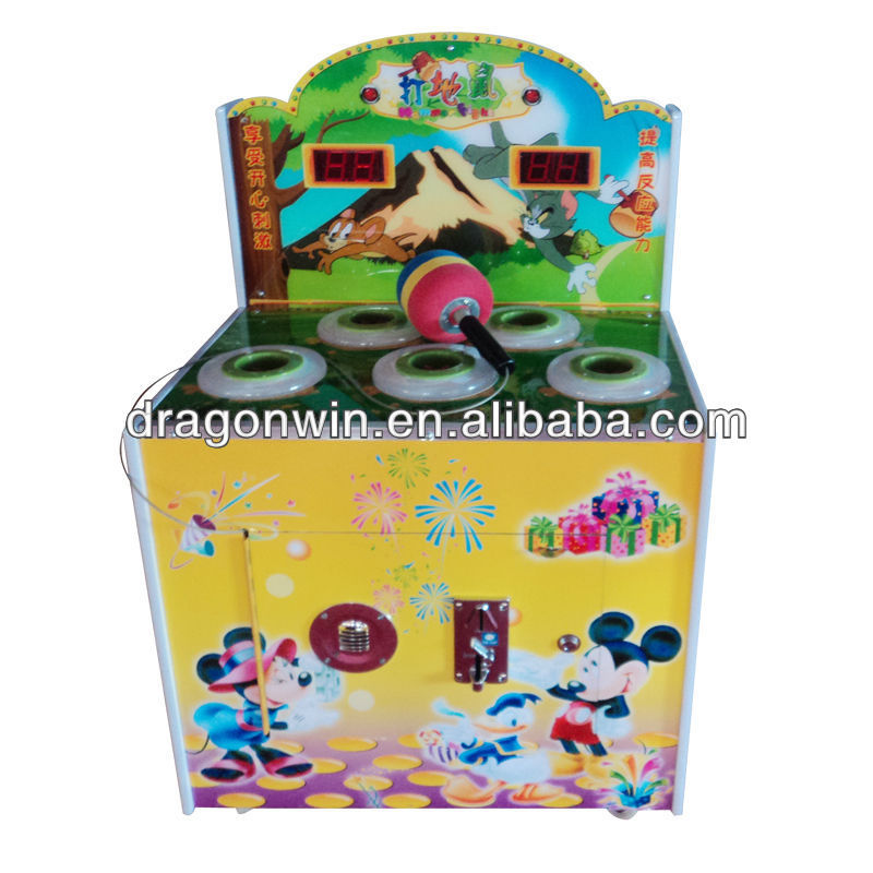 China Hot Sale Electronic Amusement Hit Mouse Arcade game machine