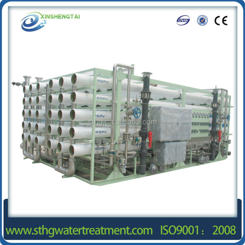 Full automatic container water filter/container Ro water purifier