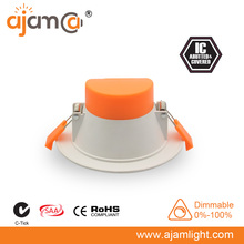 Dimmable 10W/12W/13W SMD LED Downlight 110mm Diameter 90mm Cut out Australian/New Zealand Standards