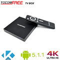 Worldwide Tocomfree Android TV box with Android 5.1.1 suppport Kodi for wholesale