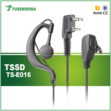 TK Connector TSSD TS-E016 Mobile Radio Use Transceiver air tube Headset