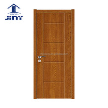 Latest design modern wooden interior hospital mdf door