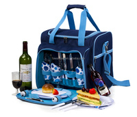 4 person picnic backpack picnic bag TWPB-33027A162