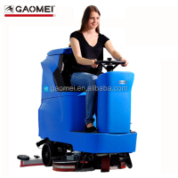 Gaomei R110BT70 24VDC auto walking ride on floor scrubber 450W/AMETEK motor