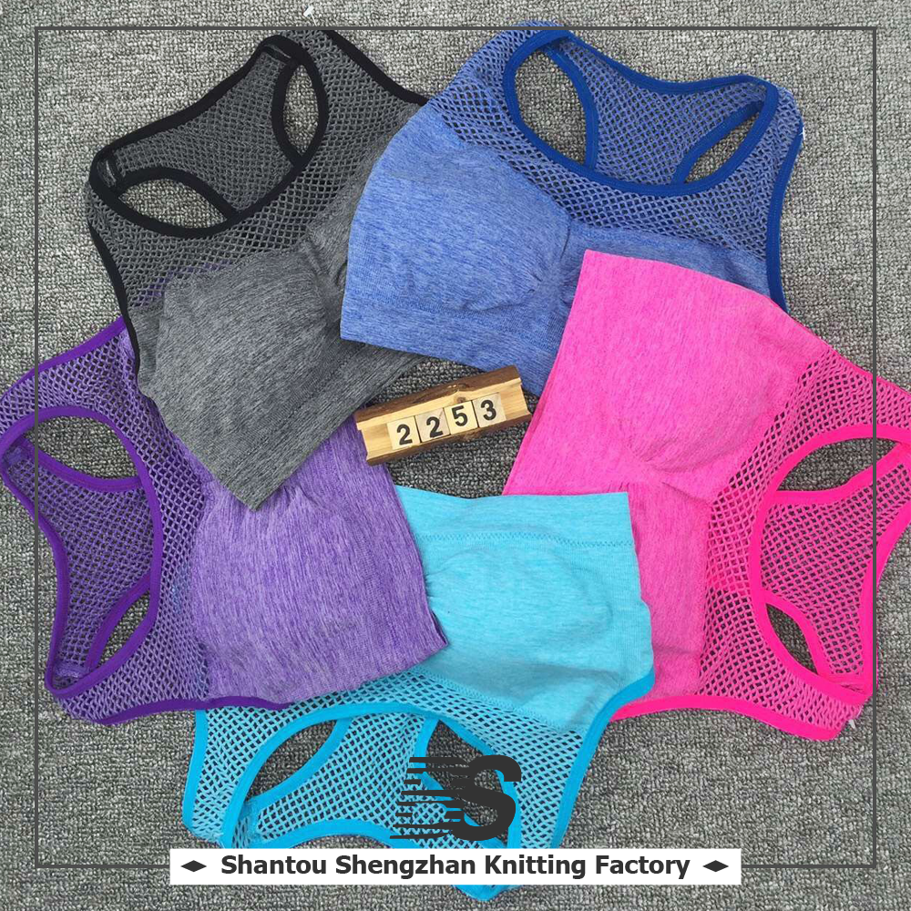 Cheap wholesale custom fitness apparel women sublimated sports bra wear, workout clothing with high quality