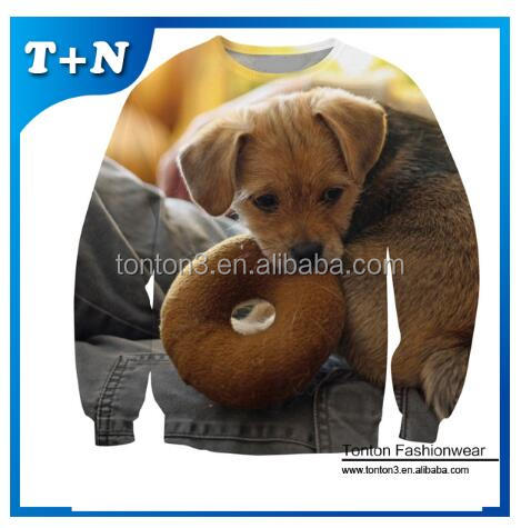 2017 Men Custom Sublimation Sweatshirts Winter Fashion Sweaters For Men