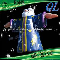 2012 {QiLing} decorative inflatable advertising model show