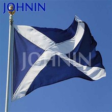 Wholesale factory direct made 100% polyester cheeap scotland flags