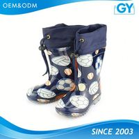 Factory competitive price boys and girls japanese rain boots