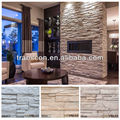 Elegant Faux Stone Panels for Fireplace