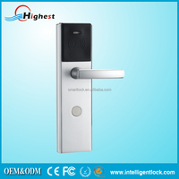 rfid cylindrical door knob lock with id card