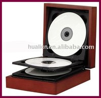 Hot sale wooden MDF DVD/CD box