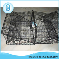 China factory rectangular PE agriculture crab fish cage net trap