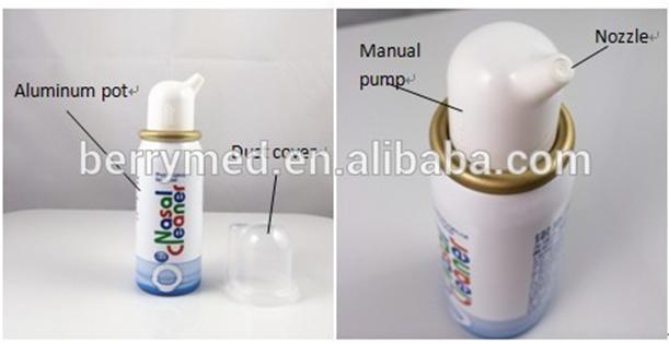 nasal spray pump bottle