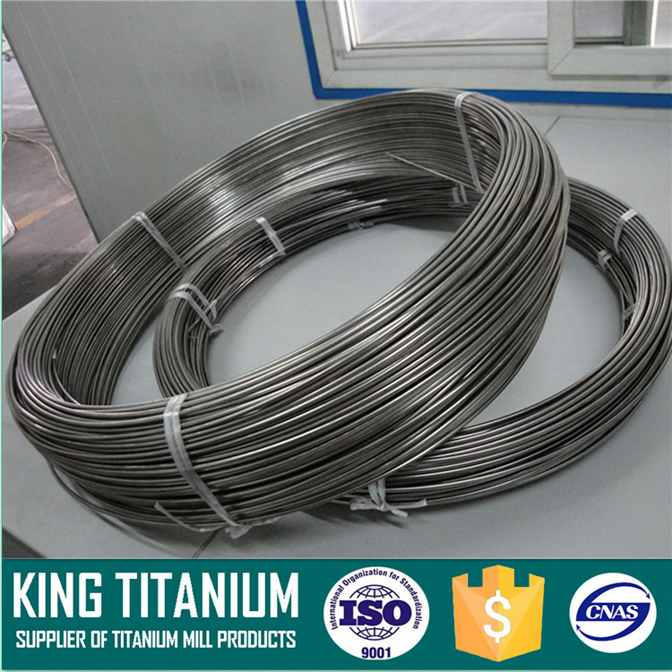 High Quality ERTi-9 Coiled Titanium Welding Wire