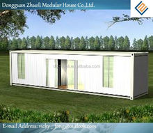 Low-maintenance and eco-friendly for multi container house
