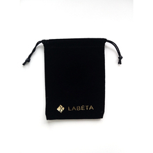 Factory Price Custom small black velvet jewelry pouch for jewelry