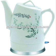 old-fashioned 1.0L ceramic electric fast kettle chinese tea pot portable electric tea kettle