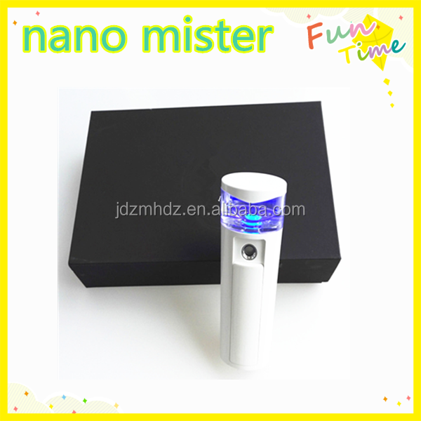 Enjoy our USB recharged mini portable nano mister steam facial mist sprayer