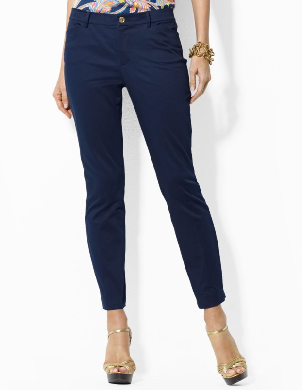 Womens Stretch-Cotton Pant