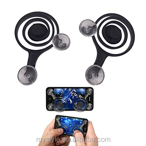 Mini Plastic Fling Joystick Touch Screen Joypad Game Handle Controller For iPhone/Ipad/ Android Mobile Phone