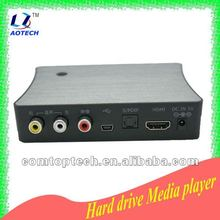 2012 new fashionable hdd multimedia player 1080p 3D HDD Player