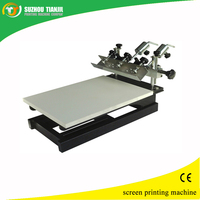 1 Color Desktop Manual Screen Printing Press with Micro Registration