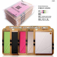 FL3295 2014 china wholesale stand wallet leather flip case cover for ipad 2 3 4