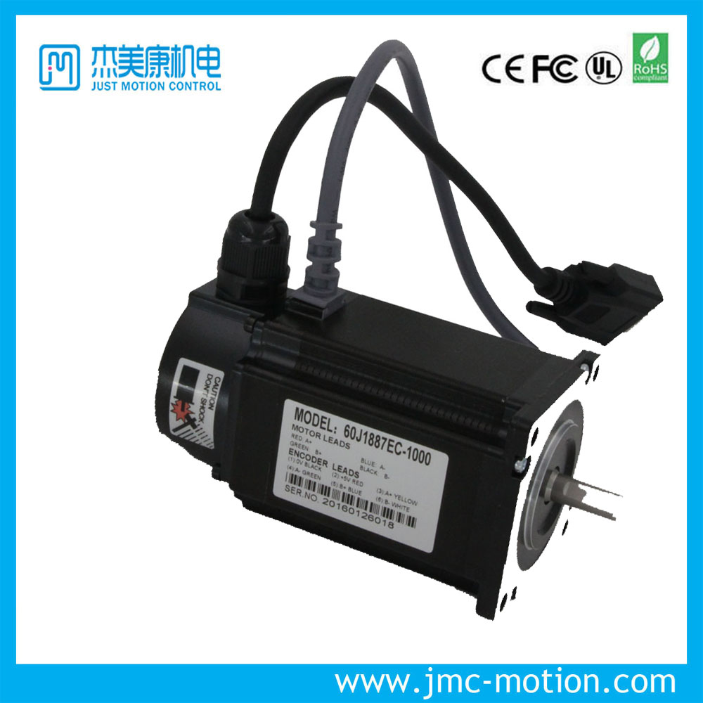 nema 24 Full closed loop stepping Servo motor JMC 60j1887ec-1000 Hybrid