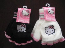Beautiful winter cheap customized promotional magic gloves with embroidered logo