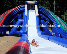 Santa's Splash Down largest inflatable water slide / Trippo lane adult inflatable mega slide