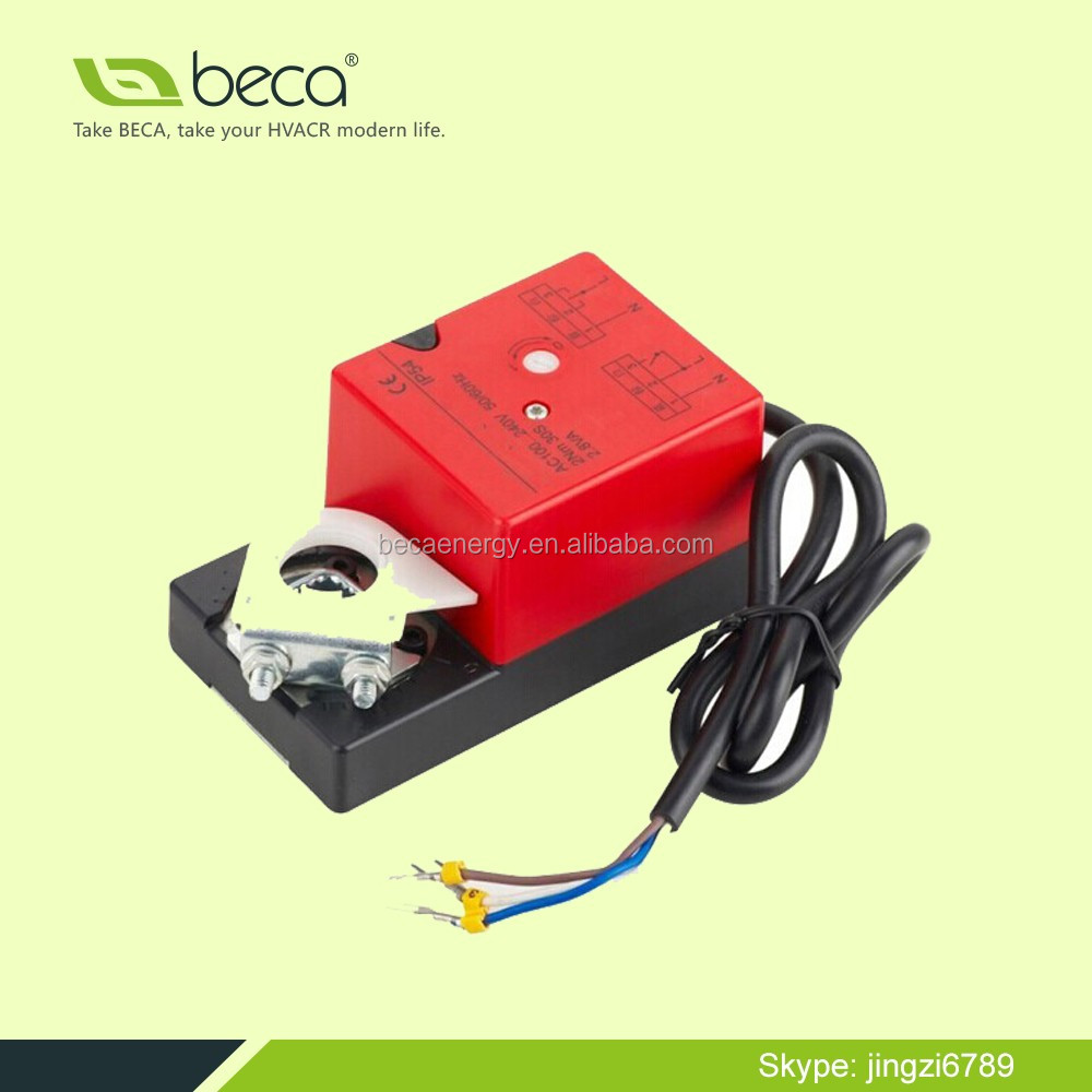 BECA 220V, 24V, 2Nm On/off Damper Actuator