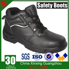 Good price durable waterproof industrial steel toe cap safety running shoes