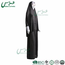 ABBAS brand 2017 good quality new models muslim abaya dress designs latest women dubai black abaya