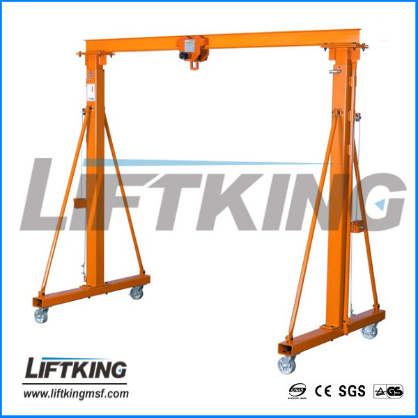 work area gantry crane