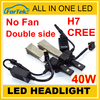excellent heat dissipation led lights h4 cree led headlight best led headlight bulbs h7 canbus led