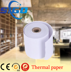 Supply cash register glossy thermal paper for pos system