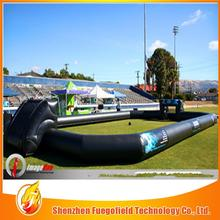 Hand printing inflatable soccer pitch with competitive price