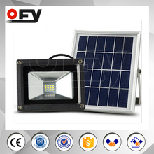New brand 2017 solar flood light with timer for outdoor using