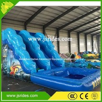 Good quality&low price inflatable corkscrew water slide for sale