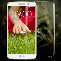 Hot Selling PC Hard Ultra Light Clear Crystal Transparent Case For LG G2 G3 D802 D855