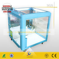 coin operated toy machine/mini toy lottery machine/small claw crane toy machine
