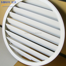 durable use fashion design round window exterior aluminum roller shutter