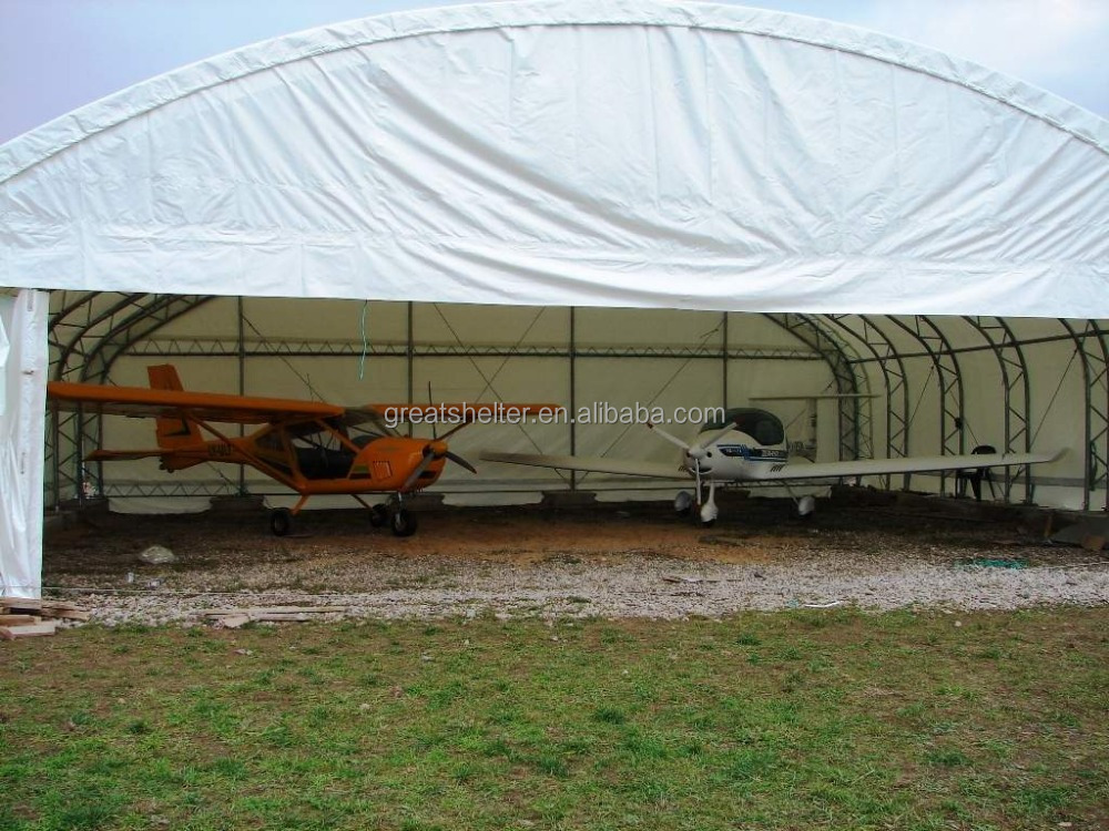 Steel Frame PVC Fabric Aircraft Hangar Tent with CE Certificate