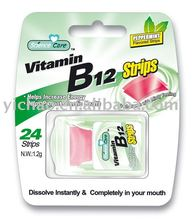 2016 newly Vitamin B12 breath Strips