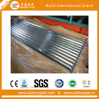 Curved Roofing Sheet Aluminium Zinc roofing sheet