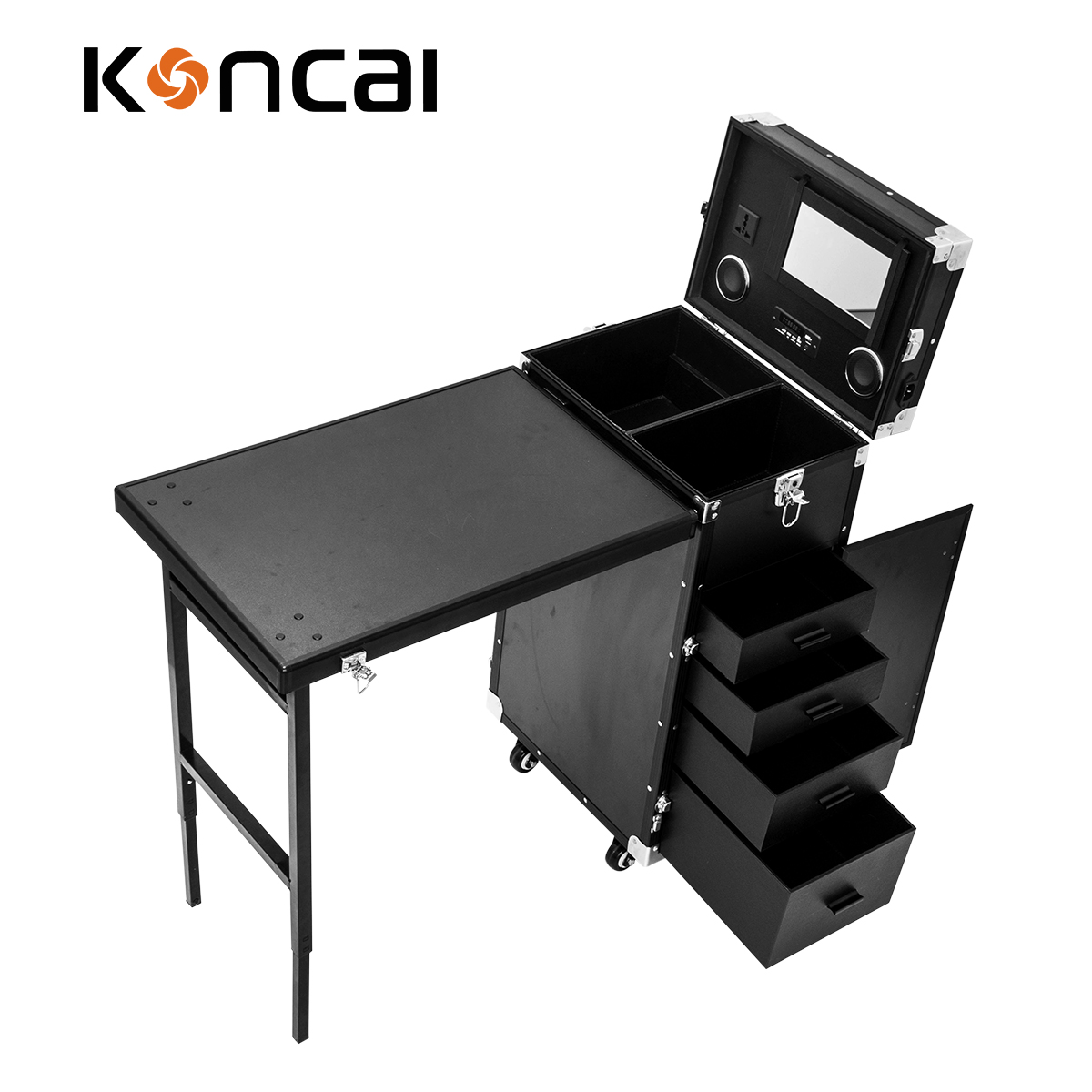 New Arrival Manicure Working Station for Salon and makeup studio Nail Beauty Furniture