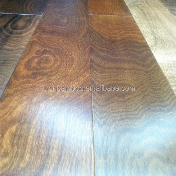 Reconstitued Engineered Stained Color Oak Flooring